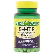 spring valley 5 htp capsules 100 mg 30 ct walmart com