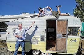 104 Restored Travel Trailers Victoria Residents Restoring Camper Victoria News