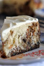 Creamy cheesy cakey carrot cake cheesecake