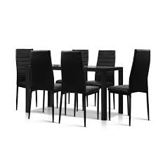Buy 7-Piece Dining Table And Chairs Sets Black - Discount Home ... Art Fniture Inc Saint Germain 7piece Double Pedestal Ding Laurel Foundry Modern Farmhouse Isabell 7 Piece Solid Wood Maracay Set Rectangular Ding Table 6 Chairs Vendor 5349 Lawson 116cd7gts Trestle Gathering Table With Hampton Bay Covina Alinum Outdoor Setasj2523nr Torence 7piece Counter Height 7pc I Shop Now Mangohome Liberty Lucca Formal Two And Hanover Rectangular Tiletop Monaco Splat Back Chairs By Grayson Ash Gray Wicker Round