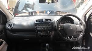 Mitsubishi Mirage facelift interior View