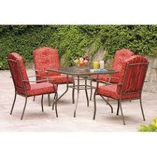 Patio Dining Chairs Walmart by Better Homes And Gardens Clayton Court 7 Piece Patio Dining Set