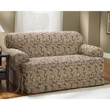 Sure Fit Stretch T Cushion Sofa Slipcover by Fit Scroll Leaf T Cushion Sofa Slipcover