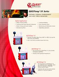 thermal environment wbgt heat stress monitors from quest