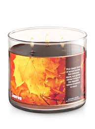 Bath And Body Works Pumpkin Apple Candle by Leaves 3 Wick Candle Bath U0026 Body Works