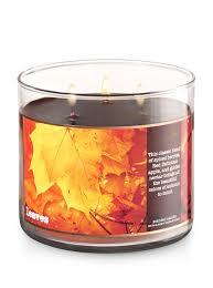Pumpkin Waffle Candle by Leaves 3 Wick Candle Bath U0026 Body Works