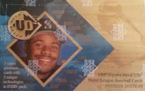 1990 Upper Deck Ken Griffey Jr by Sport Card Collectors 1997 Upper Deck Ud3 Baseball Pack 1
