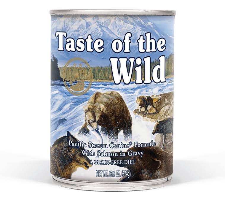 Taste Of The Wild Pacific Stream Formula Canned Dog Food - Smoked Salmon