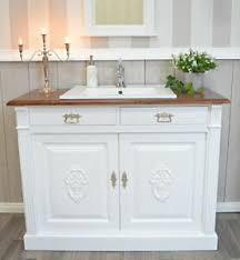 details zu landhaus kommode waschtisch badezimmermöbel landhausstil vintage shabby