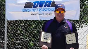 100 Oregon Trucking Association Keeping Others Safe Is The Only Victory S Outen Needs