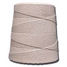 T W Evans Cordage 20 Ply 1800 ft 2 lb Cotton Twine Cone 06 200