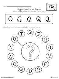 Preschool Alphabet Printable Worksheets