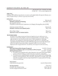 Sample Resume Undergraduate Nursing Student Feat Examples Resumes Internship For