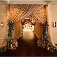 Rustic Indoor Wedding Aisle Decor Deerpearlflowers
