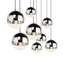 großhandel kupfer splitter glas schatten silber innenspiegel pendelleuchte e27 led pendelleuchte glaskugel innen wohnzimmer len afantil