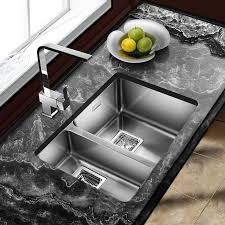 Best Kitchen Sink Material Uk by The 25 Best Double Kitchen Sink Ideas On Pinterest Kitchen Sink