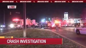 100 Postal Truck Fire Woman Injured In Crash Involving Postal Truck In Antioch News