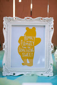 Winnie The Pooh Baby Shower by Winnie The Pooh Candy Table Decor Winnie The Pooh Baby Shower