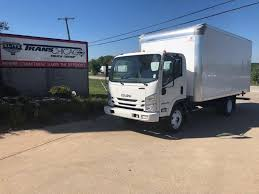 2018 ISUZU NPR GAS HD BOX VAN TRUCK FOR SALE #7725