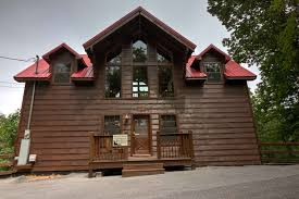 4 Bedroom Cabins In Pigeon Forge by 4 Bedroom Cabins Bear Camp Cabin Rentals