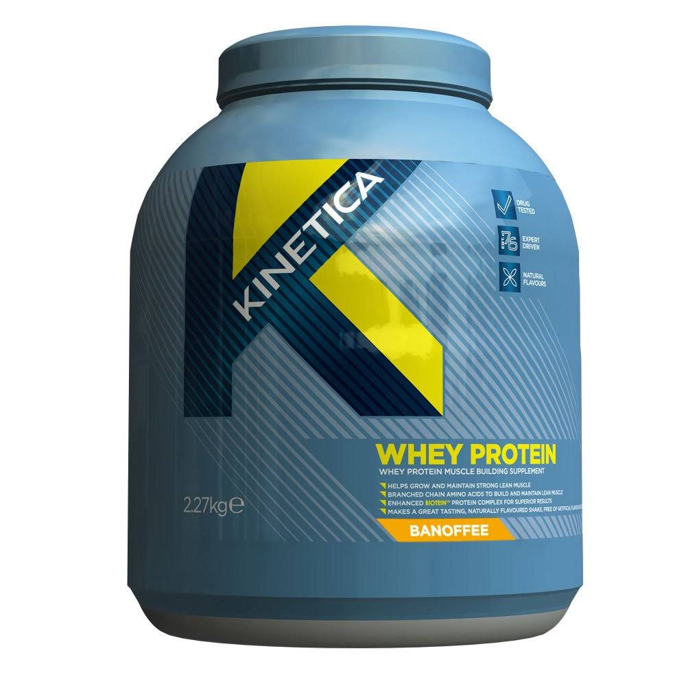 Kinetica Whey High Protein Supplement - Chocolate Flavour, 2.27kg