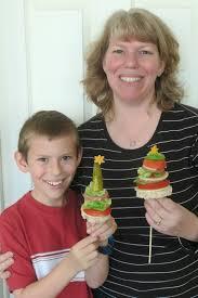 Mythbusters Christmas Tree by Cindy Derosier My Creative Life Christmas Tree Sandwich Kabobs