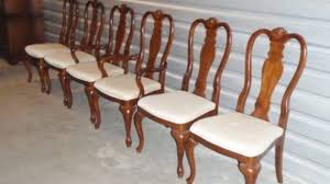 Romantic Cherry Wood Dining Chairs Of Room Furniture Unique With Photo