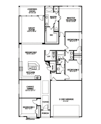 Beazer Homes Floor Plans Florida by Covington Home Plan In Lakewood Hills Lewisville Tx Beazer Homes