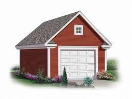 1 Car Garage Plans & e Car Garage Designs The Garage Plan Shop