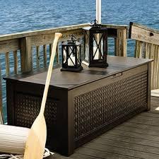 Suncast 195 Gallon Deck Box Manual by Deck Boxes U0026 Patio Storage