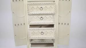 Abby Jewelry Armoire By Hives And Honey - YouTube Amazoncom Hives And Honey Abby Jewelry Armoire Antique Ivory Fniture Mesmerizing White With Elegant Shaped Armoires Search Results 34 Best Chests Cabinets Images On Pinterest Armoires Espresso Oak Med Art Home Design Posters Ikea Corner And Mirrored Innovation Jewelery Cabinet How To Install Steveb Interior