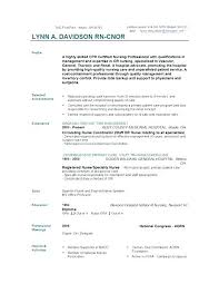 Examples Of Profiles On Resumes Professional Profile Resume Fresh Healthcare Medical