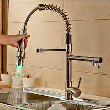 Black Kitchen Sink Faucet by Kitchen Elegant Brushed Nickel Kitchen Faucet For Your Kitchen