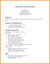 Retail Resume Objective Teller Sample For On Examples How To Write In
