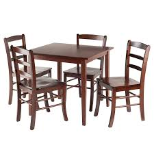 Amazon.com - Winsome 94532 Groveland Square Dining Table, 4 Chairs ... Julian Bowen Huxley Walnut Round Ding Table With 4 Chairs Fniture Of America Set Cm3354rt Winsome Groveland Square 2 3piece Lola Modern Wenge Martin Marble Top Dark Coaster 105361 Malone 5 Piece Flatfair Zuo Virginia Key Oval Tables Vancouver Lisandro Regular 16 Sets Lipper Childrens And Walmartcom Buy Acme Danville 07059 9 Pcs In Black Espresso Sydney 5ft 6 Dublin Ireland Store