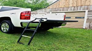 Traxion 5 100 Tailgate Ladder YouTube 2018 Titan Pickup Truck Accsories Nissan Usa Ingrated Tailgate Step Issues Ford F150 Forum Community New 2019 Super Duty F350 Drw For Sale At Mel Hambelton Best Steps Save Your Knees Climbing In Truck Bed Welcome To Amp Research Official Home Of Powerstep Bedstep Bedstep2 Watch The Chevy Silverados Powerlift Top Speed Layton Near Ogden Vin Ladder Cargo Bed Tools Work Toolbox Portable N Store Black 178010 Tool Boxes Bedxtender Hd Sport Extender 042018