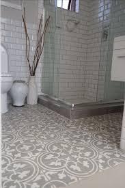 style stupendous hexagon floor tile bathroom bathroom black