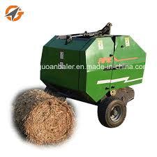 China Mini Round Baler Price Baling Machine Hay For Sale