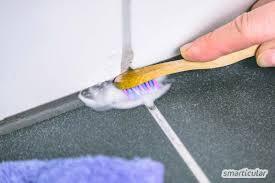 fliesenfugen reinigen mit natron soda und anderen hausmitteln