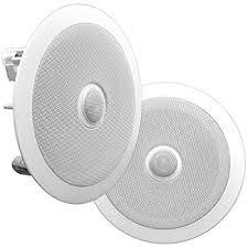 Polk Ceiling Speakers Amazon by Polk Audio Rc80i 2 Way In Ceiling In Wall Speakers Pair White