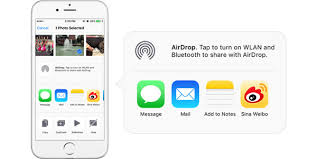 How to Use AirDrop to Transfer Files between Mac and iPhone iPad iPod