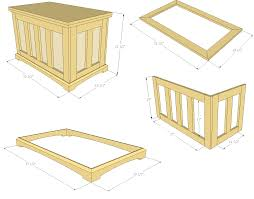 simple toy chest plans friendly woodworking projects