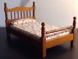altes puppenstuben puppenhaus möbel schlafzimmer bett sofa