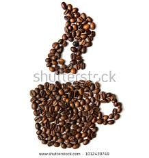 Coffee Cup Beans Without Background