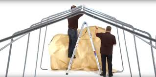 Canvas Storage Sheds Menards by Shelterlogic At Menards