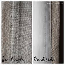 Interior Interesting Gray Ikea Blackout Curtains Front Edge And
