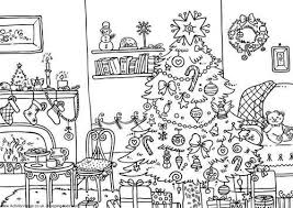 Detailed Christmas Ornament Adult Coloring Pages