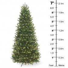 Pre Lit Pencil Christmas Trees Uk by Pre Lit Christmas Trees All In One Garden Centre