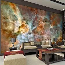 charming galaxy tapete nebula foto tapete 3d seide wandbild poster große wand kunst room decor schlafzimmer kinderzimmer hause