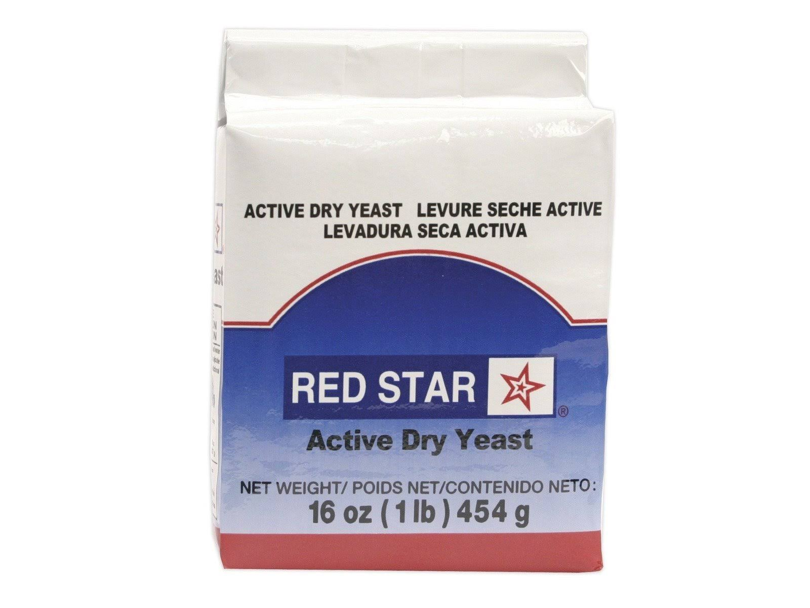 Red Star Vacuum Packed Active Dry Yeast - 1lb